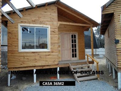 Oferta Hasta El 17 Septiembre Casa 36m2 $1.290.000