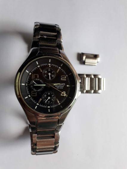 Relógio Casio Edifice Ef - Wr 100 - Original