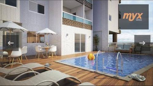 Imagem 1 de 9 de Apartamento Garden À Venda, 127 M² Por R$ 395.000,00 - Canto Do Forte - Praia Grande/sp - Gd0007