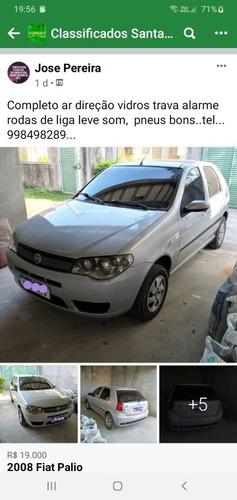 Imagem 1 de 7 de Fiat Palio 2008 1.0 Elx Flex 5p