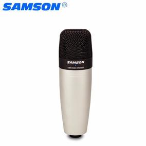 Microfone Condensador Samson C01 Profissional Sob Encomenda.