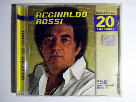 Cd Original Reginaldo Rossi Seleção De Ouro 20 Sucessos 1998