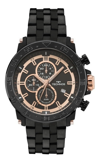 Relógio Technos Js15es/4p Legacy Preto Original
