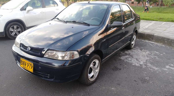 Fiat Siena 1.3 Ex 2004 Azul