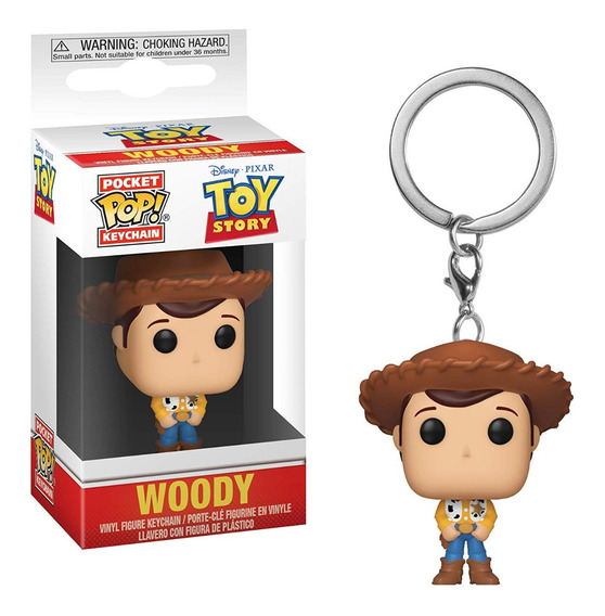 Llavero Funko Pop Woody Toy Story Disney Pocket Vaquero