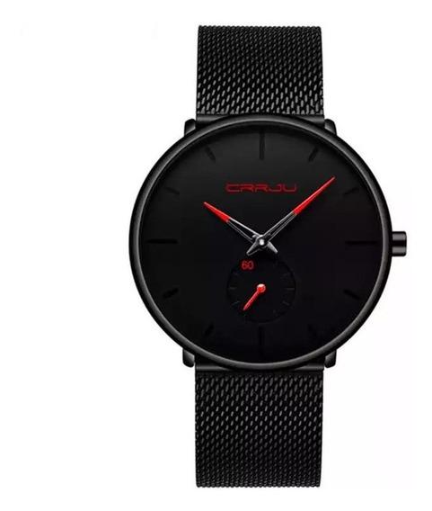 Relógio Masculino Crrju De Luxo Esportivo A Prova D