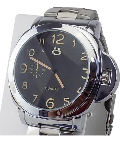 Relógio Masculino De Aço Original Com Caixa De Qualidade
