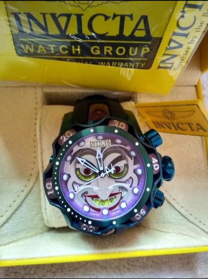 Relógio Invicta Joker Coringa Borracha + Caixa Invicta