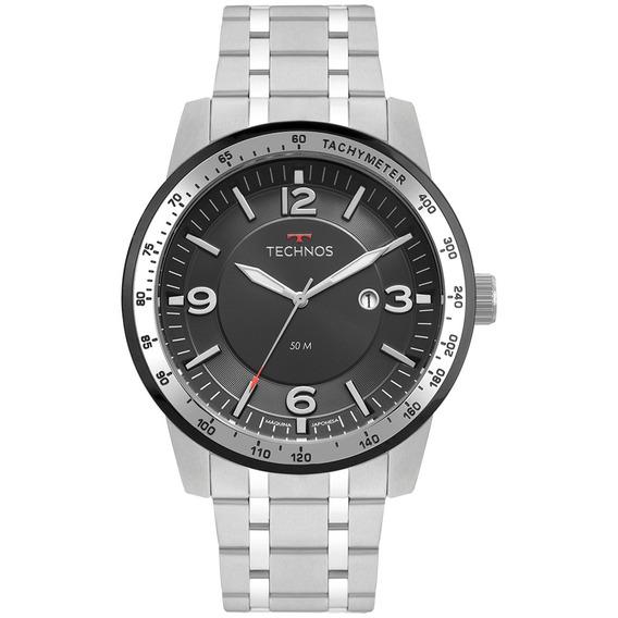Relógio Technos Masculino 2117lbc/1p Racer Prata