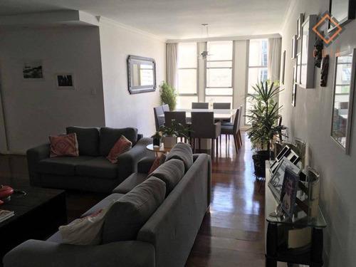 Apartamento Com 3 Dormitórios À Venda, 146 M² Por R$ 1.550.000,00 - Higienópolis - São Paulo/sp - Ap43404