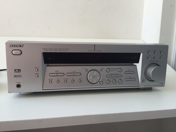Receiver Sony D.e 485 Dolby Am/fm Amplificador