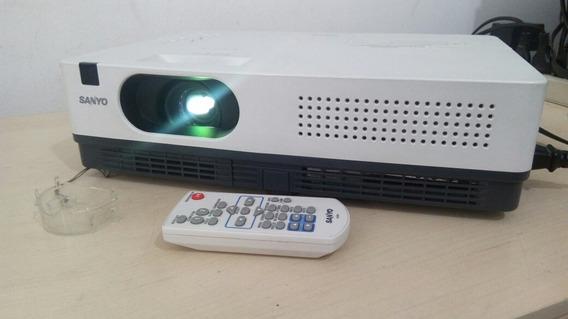 Projetor Sanyo Plc Xw200 Com Controle Original