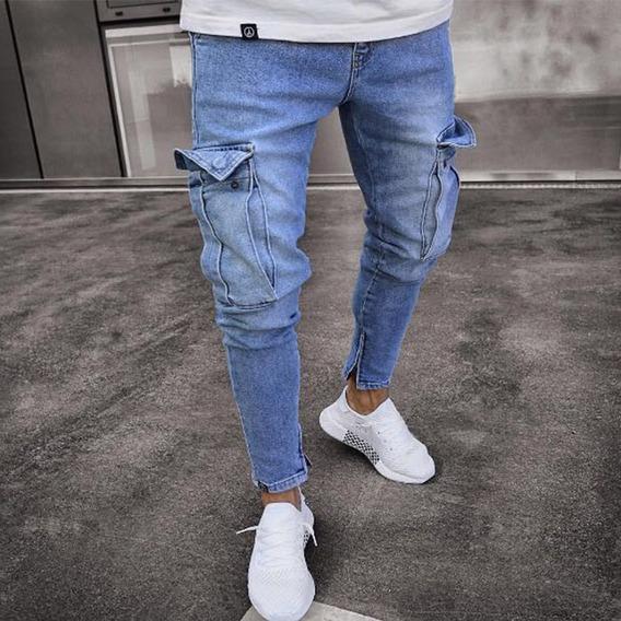 Pull And Bear Jeans Rotos Rodillas Mercadolibre Com Mx