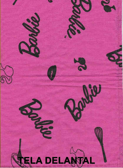 Ropa De Barbie Infantil Delantal + Bolso