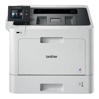 Impresora a color Brother HL-L8 Series HL-L8360CDW con wifi 220V blanca y negra