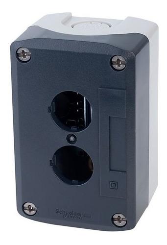 Caja De Pulsadores 2 Huecos Xald02 Schneider