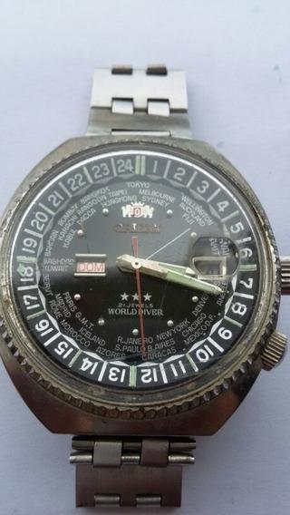 Relógio Orient Word Diversos 21 Jewels Duas Janelas (998j)