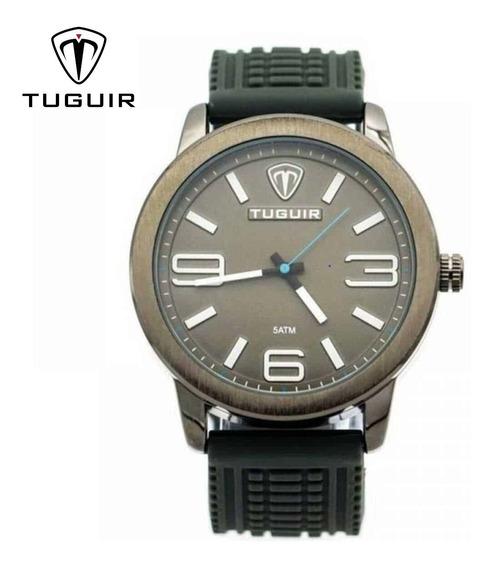 Relógio Tuguir 5320g Original E Frete Grátis - Preto E Cinza