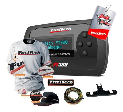 Fueltech Ft300 C/ Chicot+mega Brindes Camiseta Branca Gel Bp