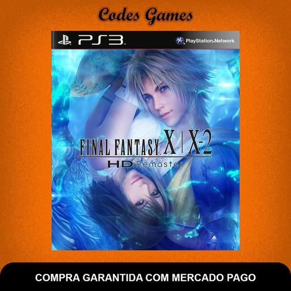Final Fantasy X/x-2 Hdremaster - Ps3 - Pronta Entrega