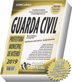 Apostila Guarda Municipal Civil Niterói