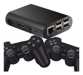 Mini Super Nes Game Retro Raspberry 32gb 2 Controles S/ Fio