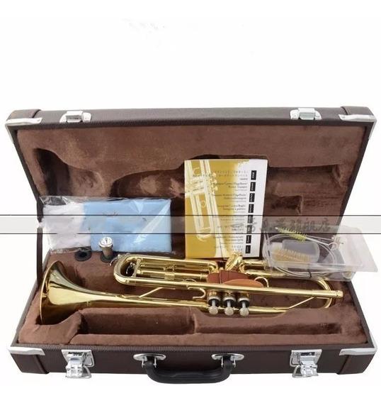Trompete Yamaha Si Bemol 2335,com 2 Bocais Pronta Entrega