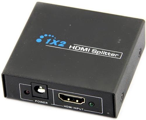 Multiplicador Splitter Hdmi Metal 1x2 Salidas 1080 V1.4 3d