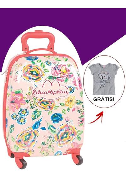 ( Frete Grátis ) Mala Infantil - Lilica Ripilica Floral!