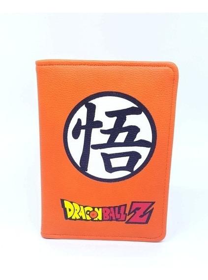 Dragon Ball Z Kanji Funda Para Pasaporte