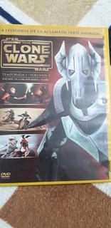 Dvd Temporada 1 Volumen 3 De Star Wars The Clone Wars