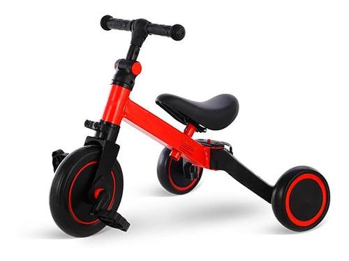 Imagen 1 de 1 de Triciclo 3 En 1 Para Niños, Bici De Equilibro Con Pedales