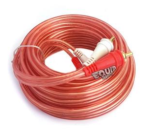 Cable Audio 6m 2 Rca 2x2 Mm Libre Oxigeno Audiopipe