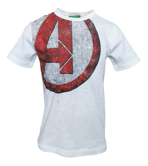 Playera Avengers Marvel Bebe Benetton 3z01c13nxbla