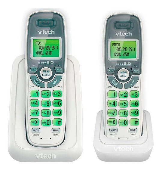 Telefono Inalambrico Vtech Cs6114-2 Detec 6.0 Digital 1 Ext