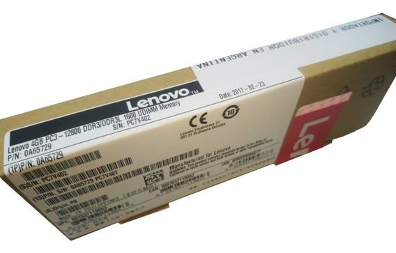 Memoria Lenovo 4gb Udimm Pc3-12800 Ddr3 / Ddr3l 1600mhz Orig