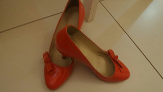 Lindo Sapato De Verniz Folic Vermelho!!!