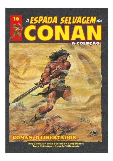 A Espada Selvagem De Conan - Volume 16 - Capa Dura
