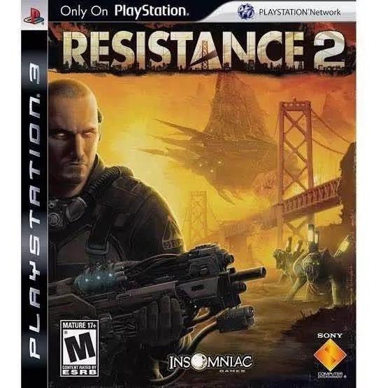 Resistance 2 - Ps3 Novo Lacrado