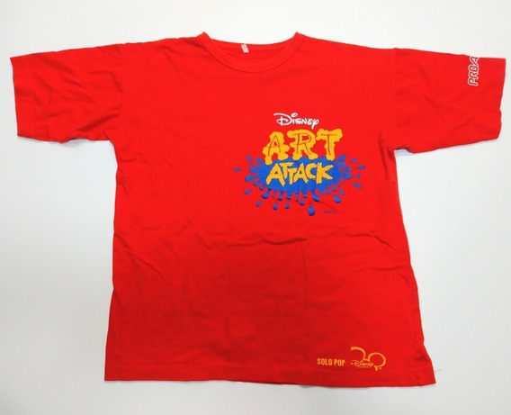 Remera Art Attack Disney Talle S Roja