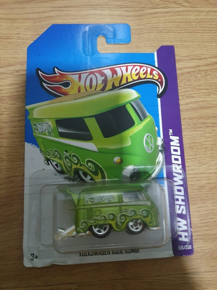 Hot Wheels 2013 Hw Showroom Volkswagen Kool Kombi 169/250