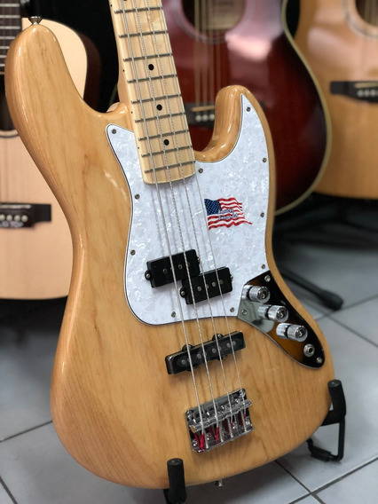 Sx Fpj Ash Bajo Jazz Bass Precision Pj 4 Cuerdas