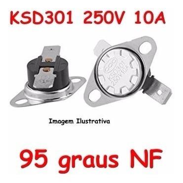 Termostato Ksd301 95 Graus - Normal Fechado- Nf Nc
