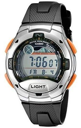 Ropa, Reloj Del Deporte W753-3av Casio Hombres De Negro ..