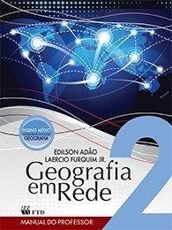 Geografia Em Rede 2 - Ensino Médio - ( Livro Usado )