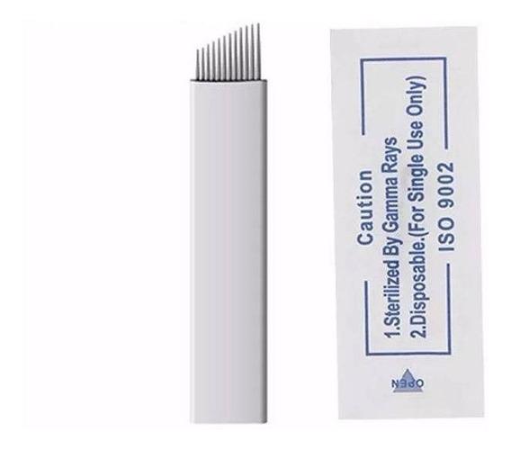 Lamina Microblanding 12 Hard Flex 100 Unidades