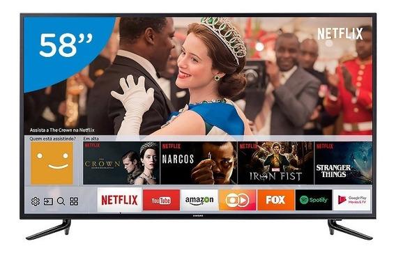 Smart Tv Led 58 Samsung Série 6 4k Hdr 58mu6120
