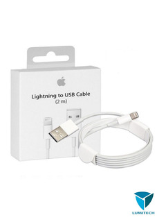 Cable iPhone Lightning Usb Carga Rapida Md819zm Original 2m