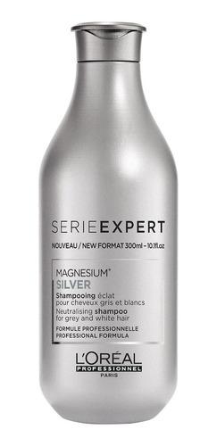 Silver Shampoo Azul Morado Cabello Gris Canas Rubio Loreal