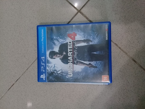 Jogo Uncharted 4 A Thief´s End Ps4